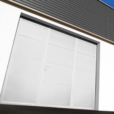 Porte de garage basculante acier SOPROFEN